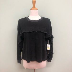 Two by Vince Camuto Ruffle Shirt (PM300)